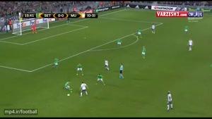 سنت اتین ۰-۱ منچستریونایتد