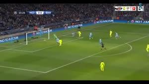 منچسترسیتی ۱-۲ بارسلونا