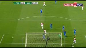 پرو ۰-۲ برزیل