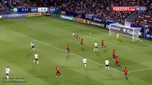 آلمان ۱-۰ اسپانیا (قهرمانی آلمان)