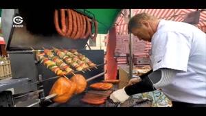 طرز تهیه غذای خیابانی در پراگ