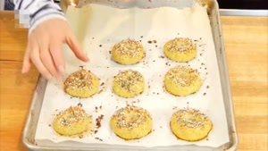 طرز تهیه نان حلقه ای گل کلم