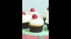 طرز تهیه پن کیک کاپ کیک بلوبری