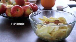 طرز تهیه کیک مرنگ سیب