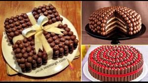 دوستداران کاپ کیک - تزیین کیک