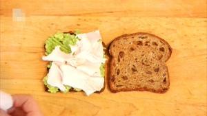 طرز تهیه ساندویچ بوقلمون