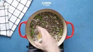 غذاهای چند دقیقه ای - خوراک لوبیا قالبی