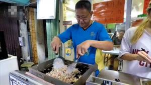 غذای خیابانی در هنگ کنگ