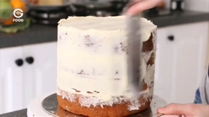 تزیین کیک - کیک رنگارنگ