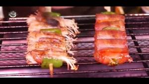 طرز تهیه غذای خیابانی در تایوان