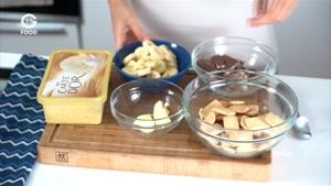 لوکانتا - کیک بستنی موزی