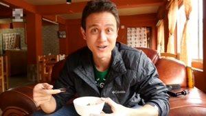 سفرنامه غذا در شهر تیمفوی بوتان