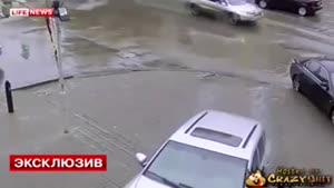 باز هم رانندگی خانمها حادثه آفرید