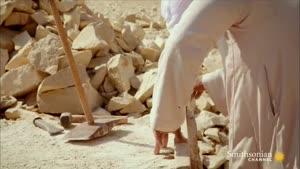 چگونگی ساخت سنگ های اهرام مصر