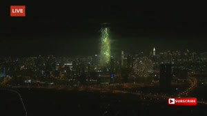 آتش بازی تحویل سال ۲۰۱۷ میلادی - دبی HD
