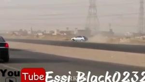 دریفت و حرکات دیدنی و وحشتناک با ماشین توسط عربها