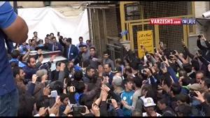 انتقال پیکر منصور پورحیدری به بهشت زهرا