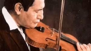 تکنوازی ویولن ـ از آثار استاد اسدالله ملک