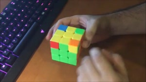 آموزش حل مکعب روبیک 5