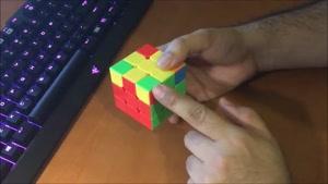 آموزش حل مکعب روبیک 6