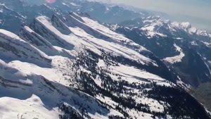 طبیعت زیبا و برفی سوئیس