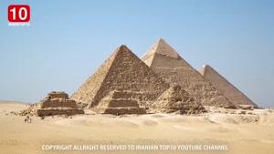 ۱۰ واقعیت عجیب درباره اهرا م مصر