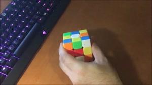 آموزش حل مکعب روبیک ۱