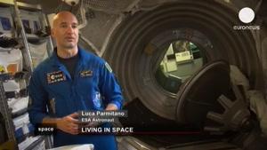 زندگی فضانوردان در فضا