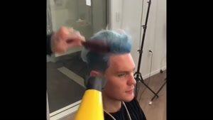 اموزش ارایشگری مردانه مدل موهای جدید
