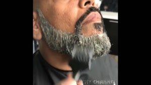 اصلاح مو ی سر کوتاه کردن ریش صورت