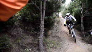 مسابقه تریل در کوه