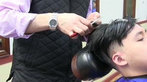 اموزش اصلاح مو مردانه