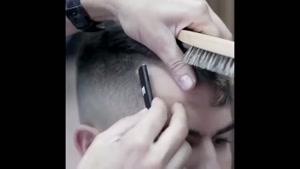 اموزش حرفه ای اصلاح مو مردانه