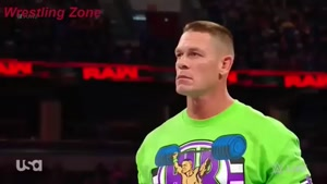 مسابقه کشتی کج John Cena vs Goldust