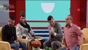 تیکه سنگین جناب خان به میلاد محمدی درمورد پرتاپش