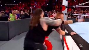 مسابقه کشتی کج رویال رامبل۲۰۱۸ Royal Rumble