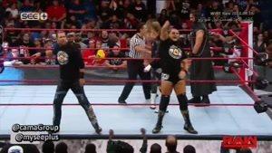 مبارزه کشتی کج گروه بی با گروه داف زیگلر