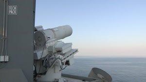 سلاح لیزری نیروی دریایی امریکا TechPack E۰۱S۰۱
