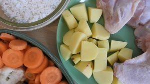 آشپزی افغان - طرز تهیه سوپ سبزیجات چربی سوز