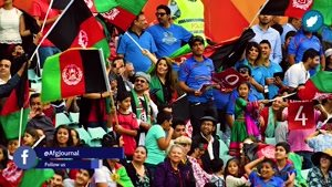 بازی کریکت در افغانستان