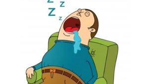 ریزش آب دهان هنگام خواب