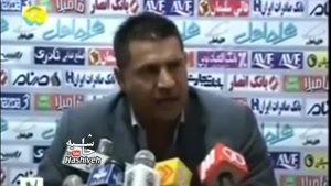 صحبت های تاریخی و دندان شکن علی دایی در لیگ برتر فوتبال ایران