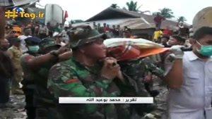 زلزله مهیب اندونزی