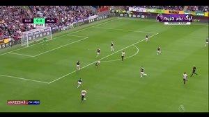 خلاصه بازی برنلی ۰ - منچستریونایتد ۲