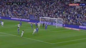 خلاصه بازی رئال مادرید ۲ - ختافه ۰