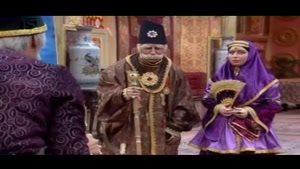 بابا شاه خشم خود را بر نقاشی می کشد