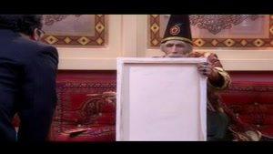 بابا شاه نقاشی لبخند ژکوند مونالیزا کشیده