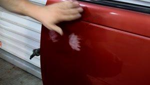 از بین بردن خط و خش ایجاد شده روی بدنه خودرو