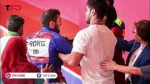 ورزشکار ایرانی بعد از شکست مقابل ورزشکار افغان راهی بیمارستان شد