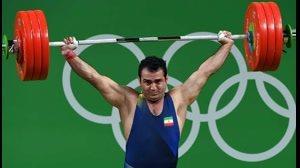 مدال طلا 94 کیلوگرم سهراب مرادی با یک حرکت